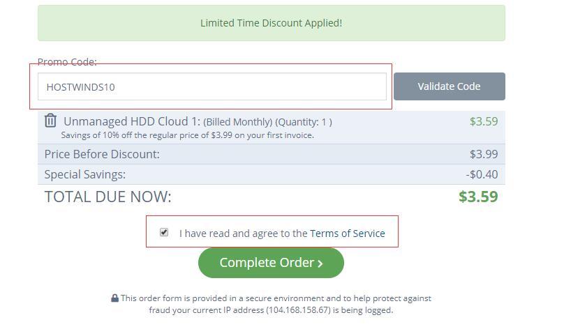 美国 VPS Hostwinds 购买流程新手教程插图7