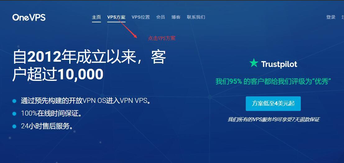 OneVPS新加坡日本VPS新手购买图文教程(支持支付宝)插图1