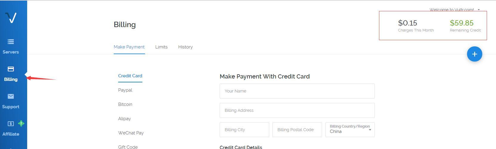 海外服务器推荐Vultr,多国家选择,新用户注册充10送50刀!插图2