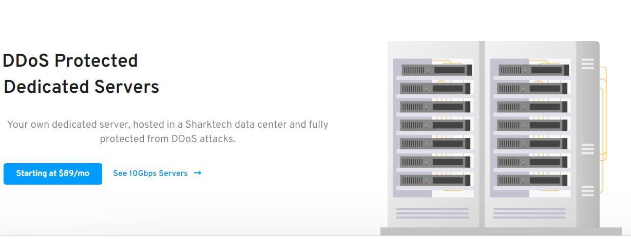 sharktech:1~10Gbps三网直连不限流量服务器,自带60G高防,7月5折促销中插图