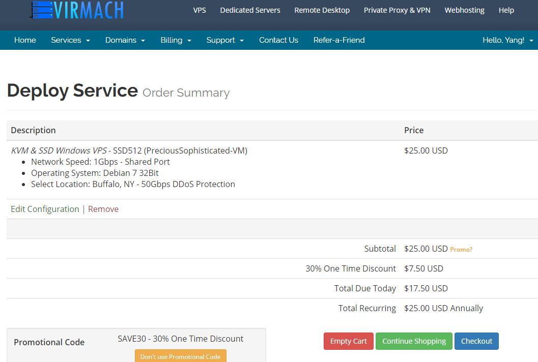 低价VPS王者VirMach超便宜KVM VPS,北美、欧洲11个机房,终身七折,年付低至11美元插图