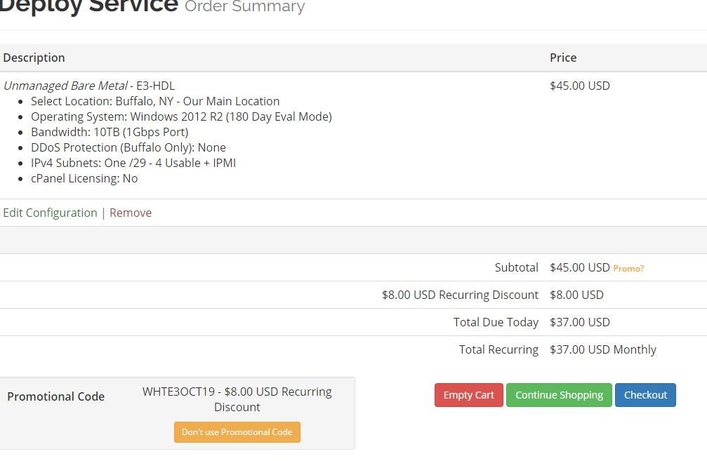 #优惠#美国VirMach独服:E3-1240、16G、1T硬盘,洛杉矶等五大机房,$37/月插图