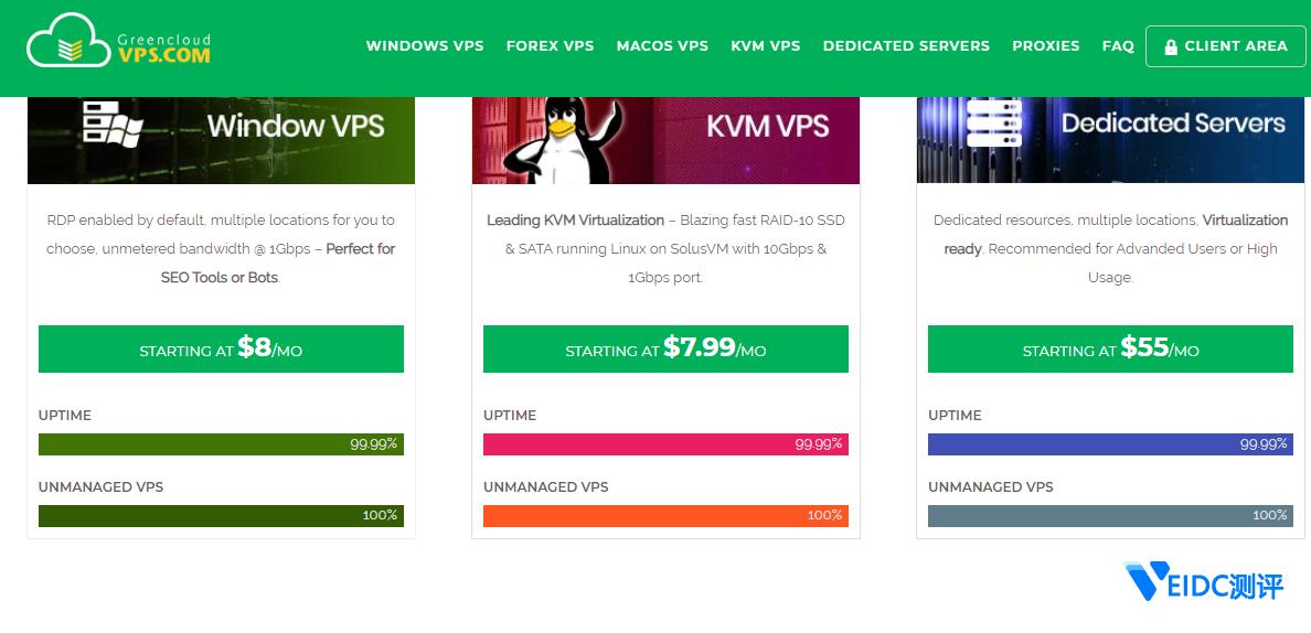 GreencloudVPS:无限流量Windows VPS年付$50/年,Hyper-V虚拟化,全球23个机房可选插图