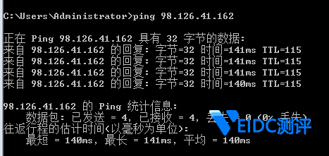 Krypt iON WordPress主机ping测试