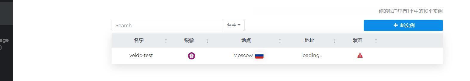 HostVDS:月付5.49元,俄罗斯OpenStack云服务器,1G内存/1核/10gNVMe,不限流量 附简单测评插图1