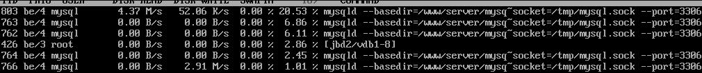 MySql数据库(InnoDB存储类型)占用I/O资源高处理插图2