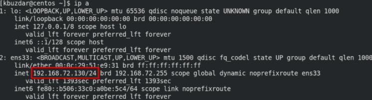 CentOS 8系统怎么查看私有IP地址?CentOS 8系统中查找私有IP地址的6种方法插图