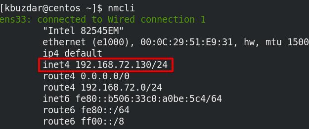 CentOS 8系统怎么查看私有IP地址?CentOS 8系统中查找私有IP地址的6种方法插图3