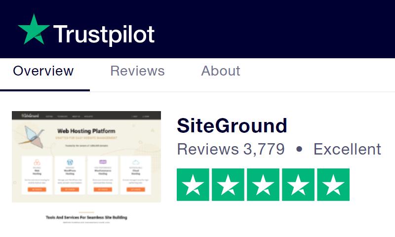 siteground评价