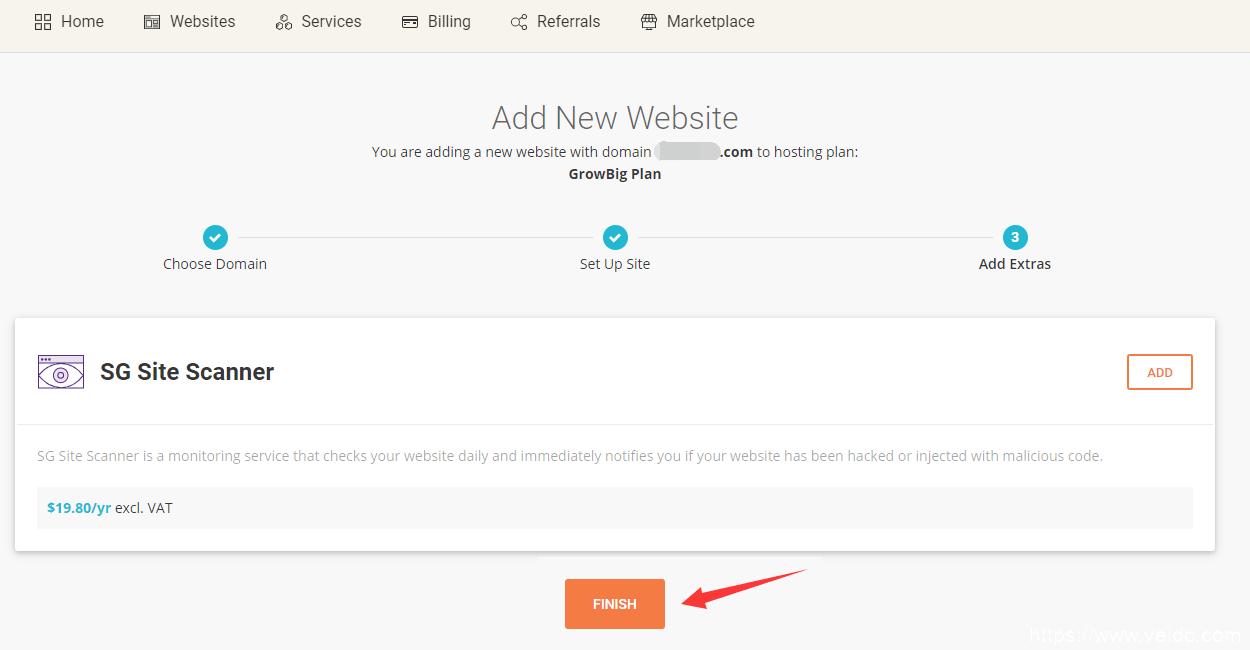 siteground后台创建SiteTools