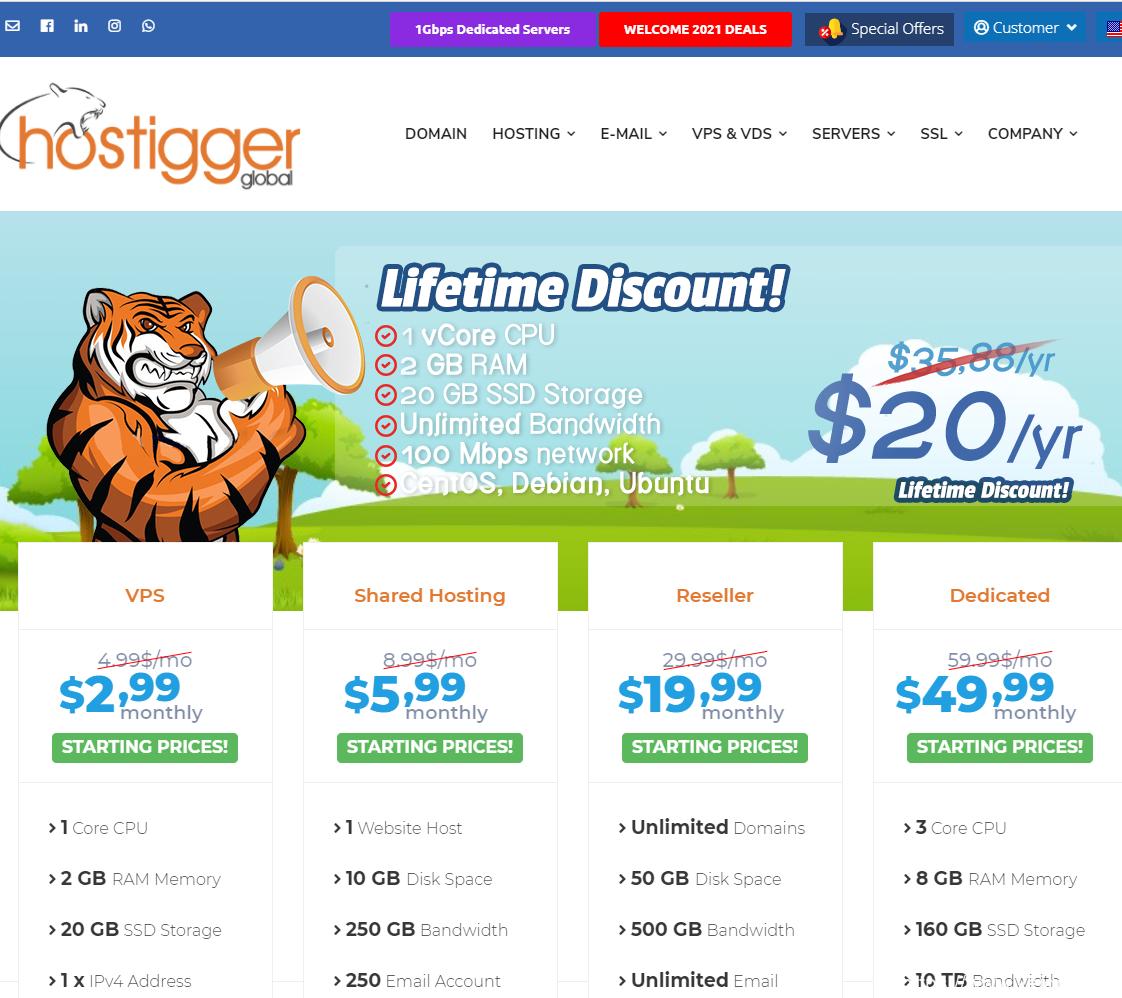 Hostigger#4月促销#:美国堪萨斯城、欧洲伊斯坦布尔,可选Linux/Windows VPS,5折优惠,$60/年插图